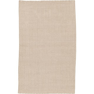 Hand-Woven Caistor Solid Jute Rug (2' x 3')