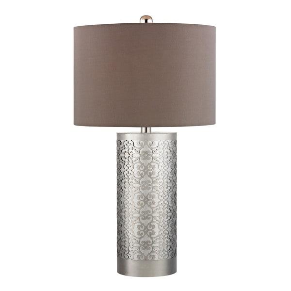 Bradstreet Metal Filagree 1-light Table Lamp