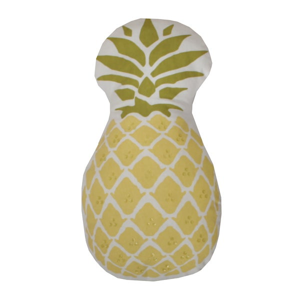Pineapple Shaped Decorative Throw Pillow Free Shipping