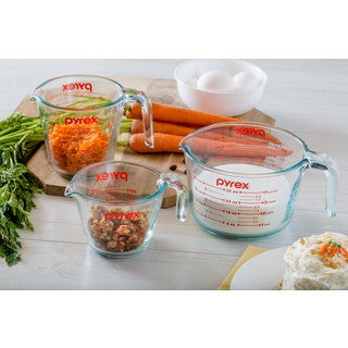 Pyrex Measuring Cup 3-piece Set