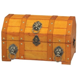 Lion Ring Treasure Chest