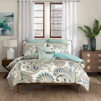 Ink+Ivy Mira 3-piece 100-percent Cotton Duvet Cover Set