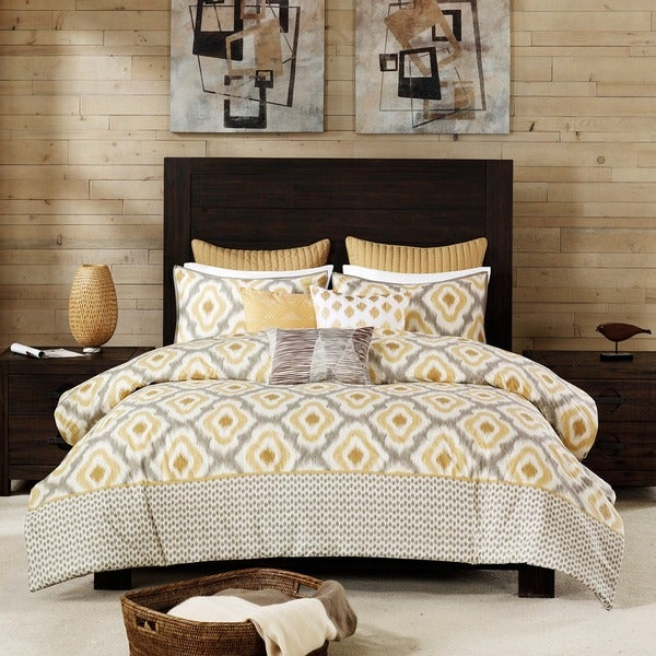 Ink+Ivy Ankara 3-piece Cotton Comforter Set