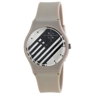Kr3w Women's K1341GY 'Freshman' Grey Plastic Watch