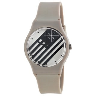 Kr3w Women's K1341GY 'Freshman' Grey Plastic Watch