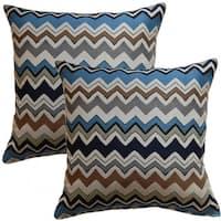 Bolt Nightfall 17-inch Throw Pillow (Set of 2)