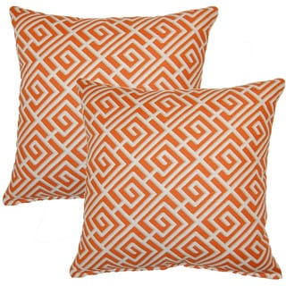 Quadrotto Tango 17-inch Throw Pillow (Set of 2)
