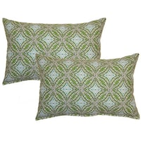Sun Swirl Ocean Decorative Throw Pillow (Set of 2)