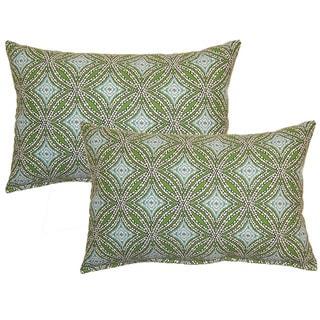 Sun Swirl Ocean Decorative Throw Pillow (Set of 2)