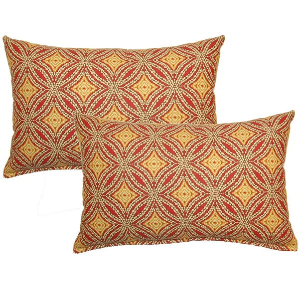 Shop Sun Swirl Nutmeg Decorative Throw Pillow Set Of 2