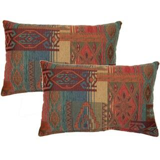 Sedona Sunset Decorative Throw Pillow (Set of 2)