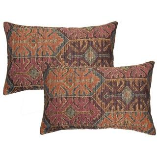 Adileh Caravan Decorative Throw Pillow (Set of 2)