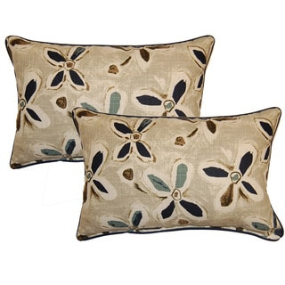 Alhambra Teal Decorative Throw Pillow (Set of 2)
