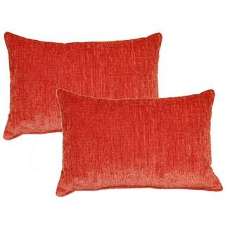 Eaton Coral Decorative Throw Pillow (Set of 2)