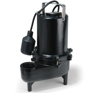 ESE40W ECO-FLO Products .4 HP Submersible Cast Iron Sewage Pump - Wide Angle Switch