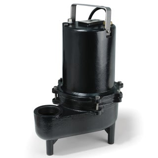 ESE40M ECO-FLO Products .4 HP Submersible Cast Iron Sewage Pump - Manual Switch