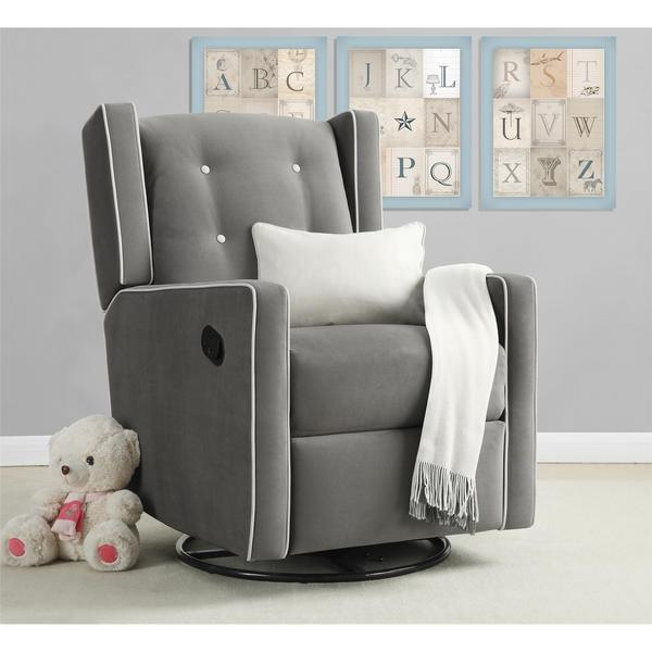 Baby Relax Mikayla Swivel Gliding Recliner Free Shipping
