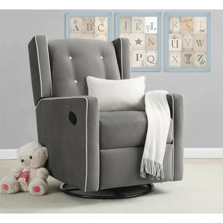 Baby Relax Mikayla Fabrick Swivel Gliding Recliner (3 options available)