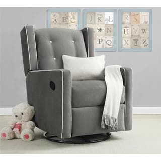 Baby Relax Mikayla Fabrick Swivel Gliding Recliner