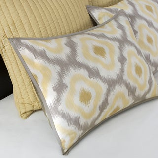 Ink+Ivy Ankara Cotton 3-piece Coverlet Set