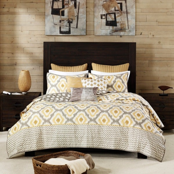 Ink Ivy Ankara Cotton 3 Piece Coverlet Set Free Shipping