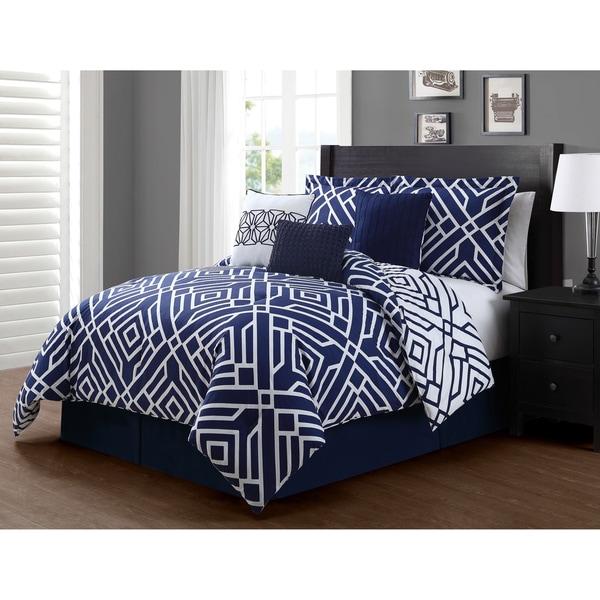Journee Collection Merida 7-piece Reversible Comforter Set