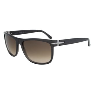 Gucci Men's 1027/S Plastic Rectangular Sunglasses