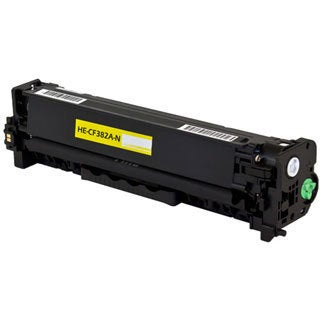 HP CF382A Compatible Toner Cartridge (Yellow)