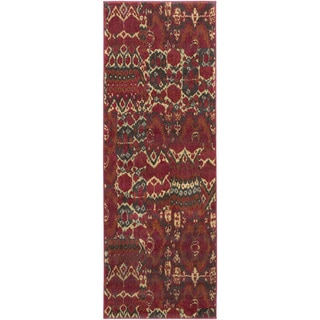Meticulously Woven Penryn Ikat Rug (2'7 x 7'3)
