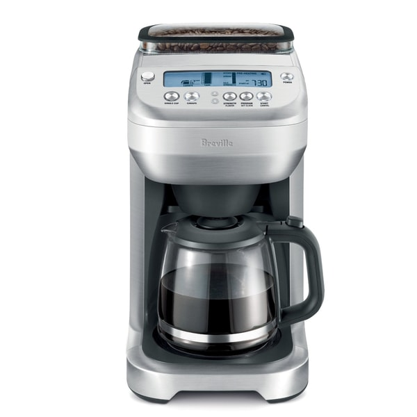 Drip Coffee Maker With Grinder : Breville BDC550XL The YouBrew Glass Drip Coffee Maker/Grinder - Free Shipping Today - Overstock ...