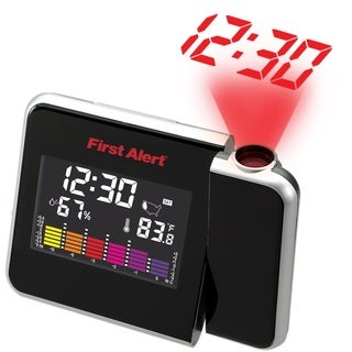 Spectra First Alert Weather Station Projection Alarm Clock