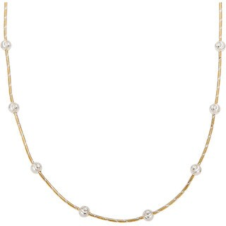 Beautiful Sterling Silver Bead Necklace