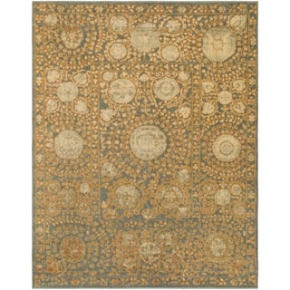 Meticulously Woven Ramsey Border Rug (7'10 x 9'10)