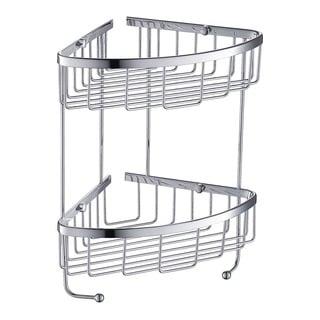 Fresca 2 Tier Wire Basket - Chrome