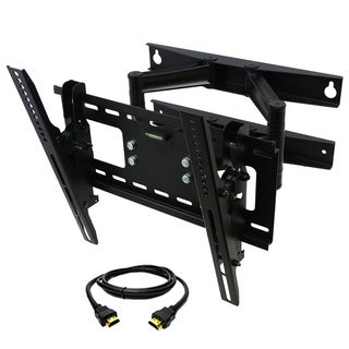 MegaMounts 23 to 46-inch Full Motion Articulating Arm TV Wall Mount with HDMI Cable