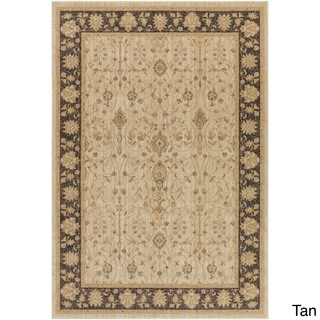 Meticulously Woven Bawtry Border Rug (7'10 x 9'10)
