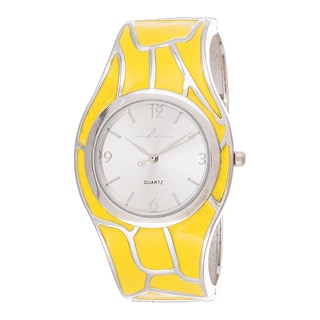 Xtreme Via Nova Women's Stainless Steel Yellow Bangle Watch
