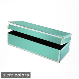 Colored Glass Jewelry Box