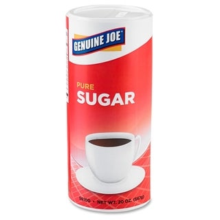 Genuine Joe Pure Cane Sugar Canister (Pack of 3)