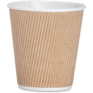 Genuine Joe 10 oz. Ripple Hot Cup (Pack of 500)
