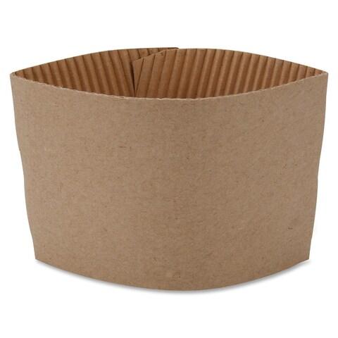 Genuine Joe Protective Corrugated Cup Sleeves (Pack of 1000)