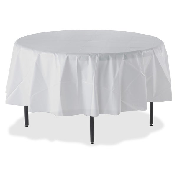 225 & Genuine Joe Round Table Cover (Pack of 6)