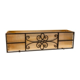 "24"" Quatrefoil Window Box"
