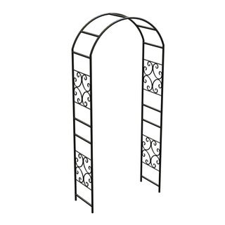 """90"""" Scroll Arbor wout Gate Blk"""