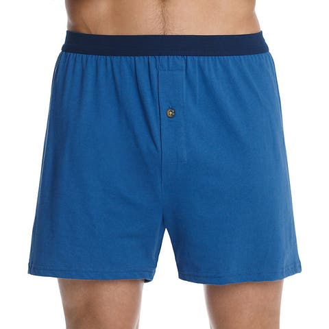 ae31988bc26e Hanes Men's Tagless ComfortSoft Knit Boxers with ComfortSoft Waistband  (Pack ...
