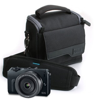 USA GEAR Universal Camera Pouch with Scratch-Proof Interior , Removable Compartments & Ripstop Nylon
