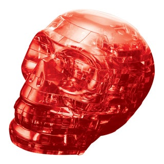 3D Crystal Skull Red 48-piece Puzzle