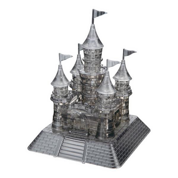 3D Crystal Castle Black 104-piece Puzzle
