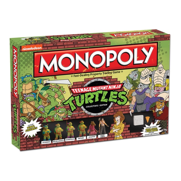 Monopoly Teenage Mutant Ninja Turtles Colletor's Edition