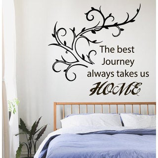 Home Family quote Sticker Vinyl Wall Art